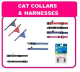 CAT COLLARS/HARNESSES