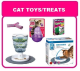 CAT TOYS & TREATS