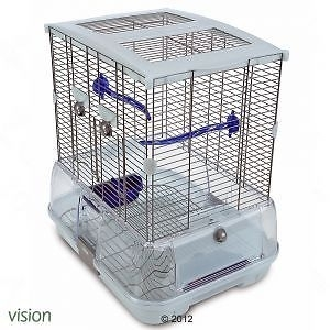 HAGEN VISION I SMALL BIRD CAGE S01 SINGLE HEIGHT BUDGIE CANARY FINCH BIRD CAGE