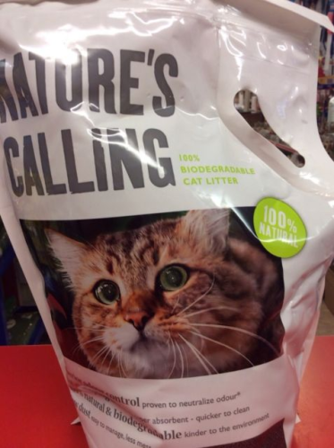 natures calling cat litter biodegradable