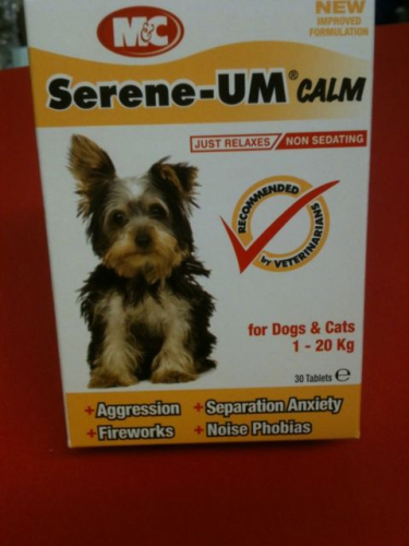Serenne-um Calm Tablets For Cat Or Dog