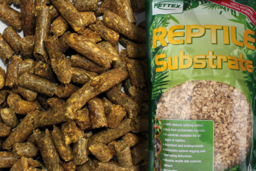 HERBIVORE SUBSTRATE TORTOISE BEDDING FLOORING PELLETS 100% NATURAL & SAFE 10LT