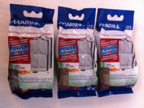 MARINA i25 INTERNAL FILTER REPLACEMENT CARTRIDGE 3 X 2 FILTERS = 6 FILTERS.