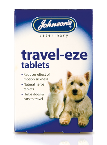 Johnson's travel-eze tablets