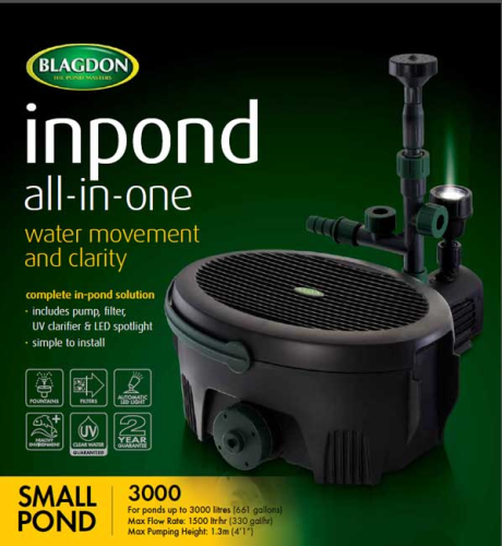 Blagdon Inpond All-in-one 3000 9w
