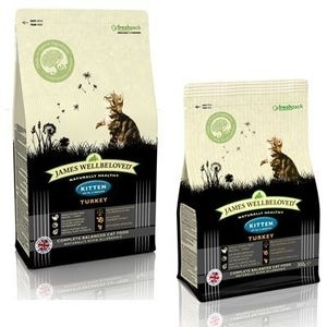 James Wellbeloved  Kitten food turkey 1.5kg