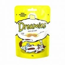 Dreamies cat treat  cheese flavour 60g