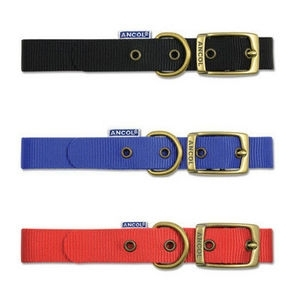 Ancol nylon collars with buckle  16""