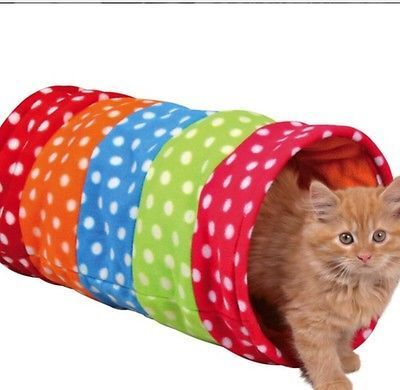 Fleece Cat Play Tunnel 50 cm