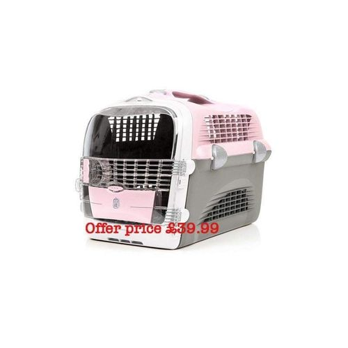Catit cabrio pink pet carrier